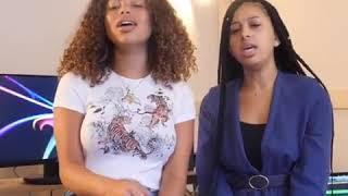 Jade&Naïa L'odeur Du Charbon Cover De Dosseh Ft Maes