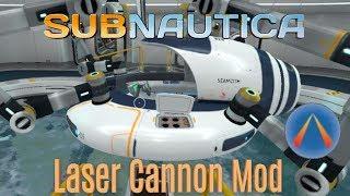 Subnautica - Seamoth Laser Cannon Mod