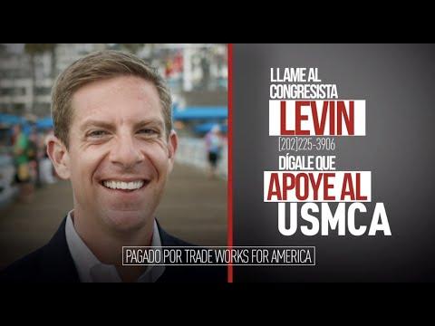 Dígale al congresista Levin que vote sí sobre el USMCA