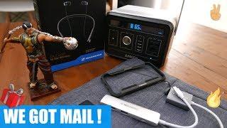 We've Got Mail ! Unboxing MoArmouz Gear, Anker PowerHouse, Sennheiser Cx 7.00 BT