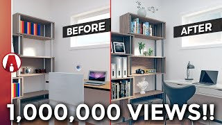 10 Tips for a REALISTIC Interior Rendering | Vray 3.4 for Sketchup