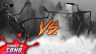 Siren Head VS Light Head Rap Battle (UNSEEN FOOTAGE) (Scary Horror Parody)