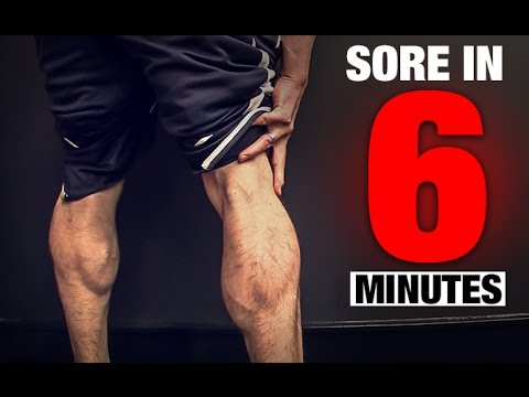 Calf Workout (SORE IN 6 MINUTES!)