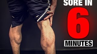 Calf Workout (SORE IN 6 MINUTES!) 出處 ATHLEAN-X™