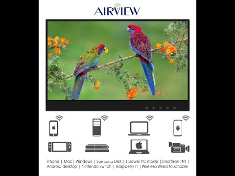 AirView Wireless Touchscreen Portable Monitor-GadgetAny