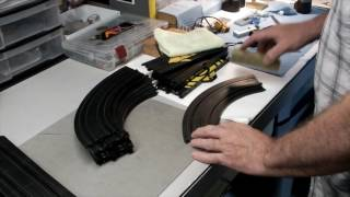 Cleaning the Rails on Your HO Slot Car Track