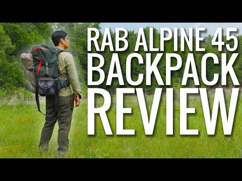 Gear Review – Rab Alpine 45 Backpack – Ultralight Backpacking Gear