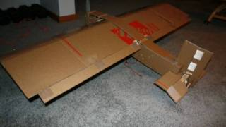 How to Build a Big Cardboard RC Airplane