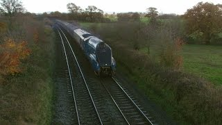 preview picture of video 'Chester 22.11.2014 - 60019/4464 Bittern on The Cathedrals Express at Waverton'