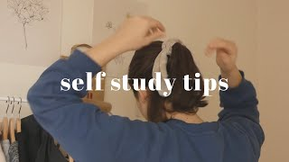 ☕ tips on self study / start studying at home