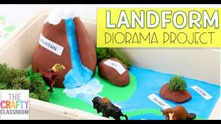 Landform Diorama Project