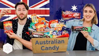 Trying Aussie Snacks & Lollies...mate! Yew! - This With Them