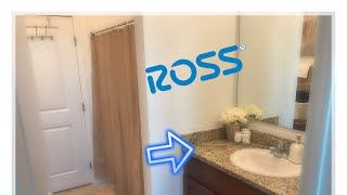 Bathroom Decorating Ideas/ Ross & Marshalls Haul