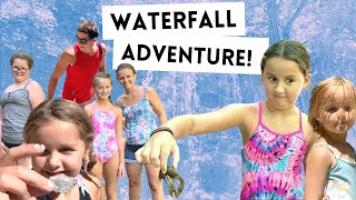 LIVING THE WAY Vlog // Waterfall Adventure! (Family Road Trip)