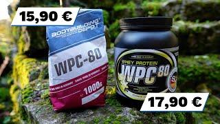 WPC-80 des Bodybuilding Depots im Test   Fitness Food Corner