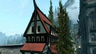 Skyrim.. улучшенные города(мод) Солитьюд