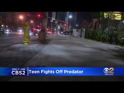 EXCLUSIVE: Teen Victim Of Attempted Kidnapping In Compton Speaks Out