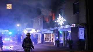 Meerdere gewonden bij woningbrand Wilnis