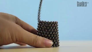 Diameter Magic Magnetic Ball Puzzle Toy - Gearbest.com