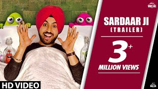 Exclusive: Sardaarji   Official Trailer   Diljit Dosanjh, Neeru Bajwa,Mandy Takhar  Releasing 26June