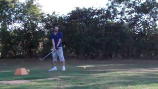 preview picture of video 'Ed Wilson - @ed_wilson87 taking a swing'
