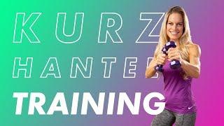Fitness Workout: Hantel Übungen für Anfänger mit Corinna Frey