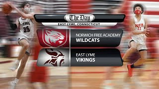 ECC South Boys' Basketball Final - NFA at East Lyme