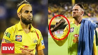 Imran Tahir's reply to CSK fan for throwing Shoe | CSK vs KKR | IPL 2018