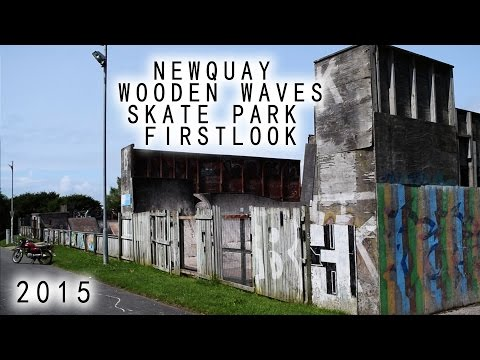 Newquay - Wooden Waves - Skatepark - FirstLook - 2015