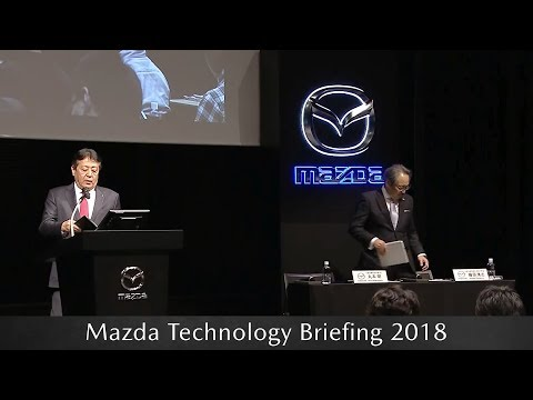 Mazda Technology Briefing 2018