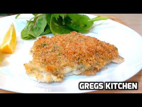 PARMESAN CRUMBED FISH RECIPE - Greg's Kitchen