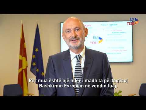 David Geer (EU Ambassador) Welcome Message (ALB)