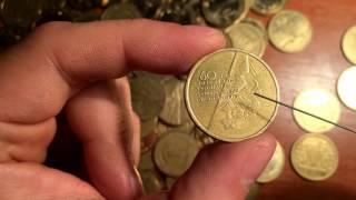 Реальная цена монет номиналом 1 гривна !!! Обзор на эти монеты