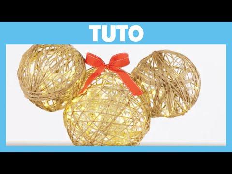 Les Aventures de Mickey et ses amis - Tuto de Noël : La lampe de Mickey et Minnie