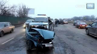 ДТП Воронеж. Он шел на взлет + момент столкновения (6 ноября 2013)