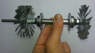 Download Video Home made Jet engine - Come Realizzare una Turbina Jet - Part 1 MP3 3GP MP4