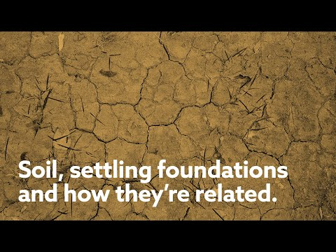 What does soil have to do with foundation settlement? Everything. Hear from one of our foundation repair experts on how soil affects foundation settlement and which factors come into play in Nebraska, Kansas and Iowa.  Soil characteristics have a major effect on the foundations and other structures upon which they're built. Different soil types react to water differently: Sandy Soils are very stable because water passes through rather than being absorbed and causing shifting and settling. Unfortunately, sandy soils are less common, especially in our area here in Nebraska, Kansas and Iowa. Sandy Loam Soils are usually pretty stable and show little change with the increase or decrease of moisture temperature. The primary concern would be soil erosion and the inability to sustain the weight of a foundation and home structure. Clay soils have the greatest potential to damage a foundation because they absorb water easily and expand, then dry out and shrink and crack. This leaves gaps around a house where water from the next storm can penetrate easily and deeply to repeat the expansion/contraction cycle. Expansive clay soils can cause foundations to crack, heave and shift.