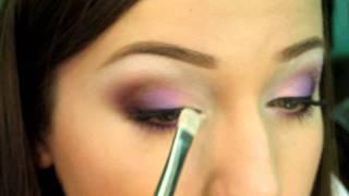 Романтичный макияж в карандашной технике