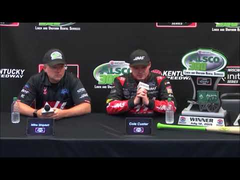 2019 NASCAR Kentucky Xfinity Post-Race Q&A