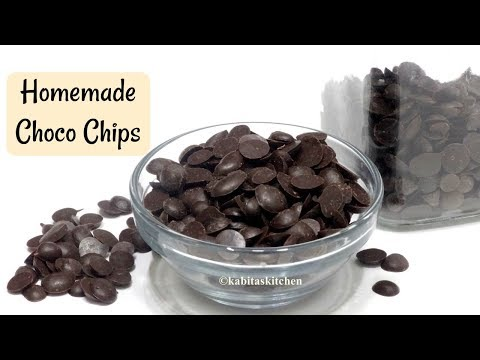 Choco Chips recipe | मिनटों में बनाए चोको चिप्स  | Homemade Choco Chips | kabitaskitchen