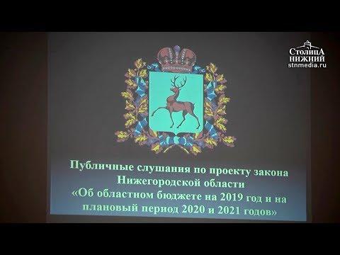 Пособия и социальные выплаты в Нижегородской области планируется проиндексировать в 2019 году