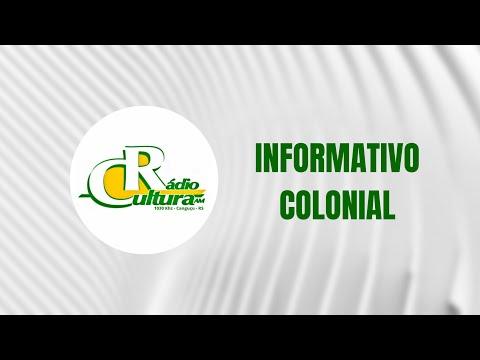 INFORMATIVO COLONIAL - 06/10/2021