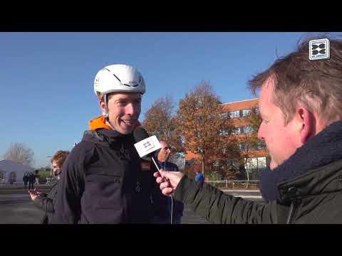 Olympisch kampioen Jorrit Bergsma trainde als jeugd in Grou