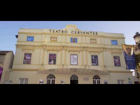 150 aniversario de la construcción del Teatro Cervantes de Málaga