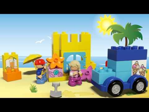 Vidéo LEGO Duplo 10618 : La boîte de construction créative