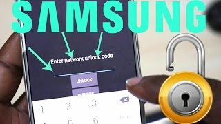 Unlock Samsung Galaxy S6 or any Samsung Device with Network Unlock Code