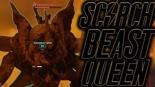 Fallout 76 server takes on the scorchbeast queen | KILL THE SCORCHBEAST QUEEN