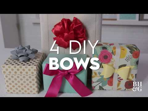 4 DIY Bows | Made By Me Crafts | Better Homes & Gardens
