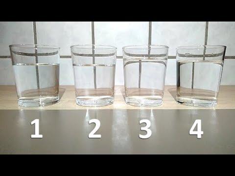 Trink 4 Wassergläser auf leeren Magen und staune wie viele Kilos du in kurzer Zeit verlieren kannst