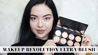 Makeup Revolution Ultra Blush Golden Sugar